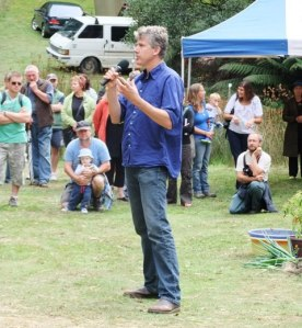Gourmet Farmer Matthew Evans talks about his popular TV series