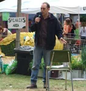 Jonah Gouldthorpe talks about growing vegetables in pots