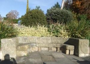 The wonderful stone seat