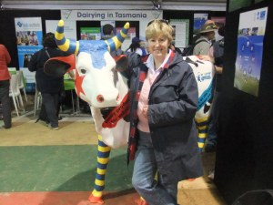 A naff photo I know, but I like it! At the AgFest dairy expo