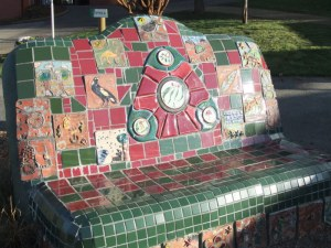 The wonderful mosaic chair