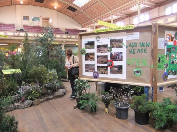 The Tasmanian Bushland Gardens were there showing local natives