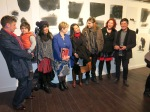 Me with some of the artists and attendees