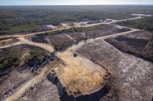 Nelson Bay River, Shree Mine Site