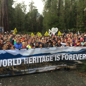 Standing up for our Tasmanian Wilderness World Heritage