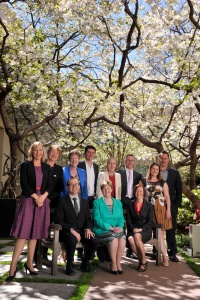 Australian greens party Group shot. front row seated l-rAdam Bandt, Christine Milne, Rachel Siewert, back row,  Larissa Waters, Janet Rice(Sen Elect), Peter Whish-Wilson, Penny Wright,Scott Ludlam,  Lee Rhiannon,Richard di Natale,  Sarah Hanson-Young..23 september 2013